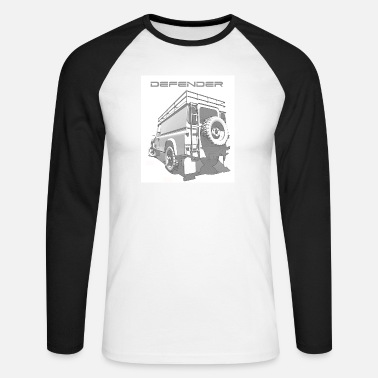 Rover LAND ROVER DEFENDER - Men's Longsleeve Baseball T-Shirt