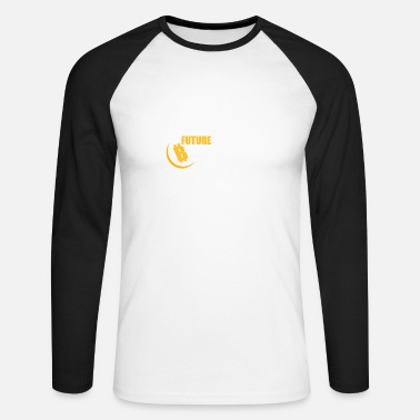 Crypto Currency Crypto Currency - Men's Longsleeve Baseball T-Shirt