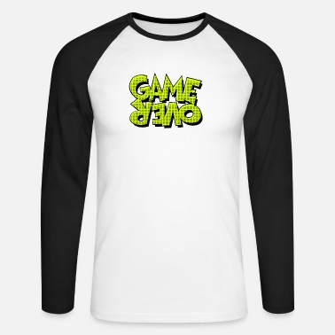 Game Over Game Over - T-shirt manches longues baseball Homme