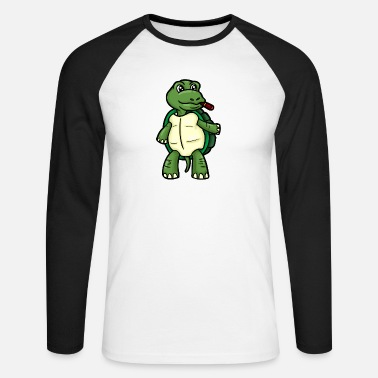 Crapaud Tortue crapaud crapaud - T-shirt manches longues baseball Homme