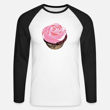 cupcake - T-shirt manches longues baseball Homme