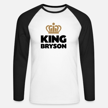 Bryson King bryson name thing crown - Men's Longsleeve Baseball T-Shirt