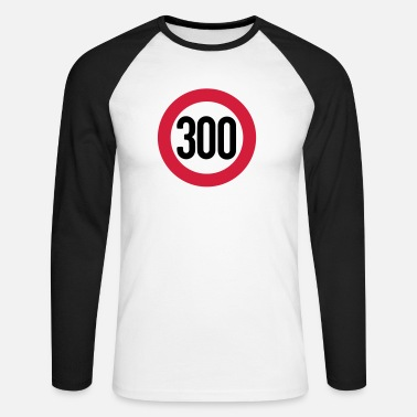 Km 300 km/h - T-shirt manches longues baseball Homme