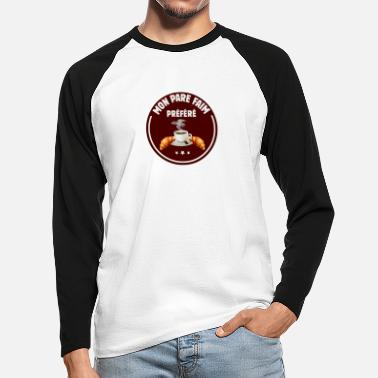 Smell My Cheese MY FAVORITE HUNGER! - Men's Longsleeve Baseball T-Shirt