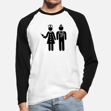 Hospital Hospital - Men's Longsleeve Baseball T-Shirt