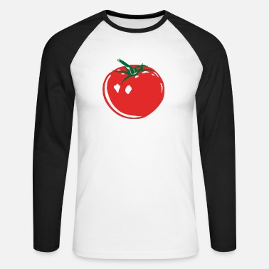 tomato3 - T-shirt manches longues baseball Homme