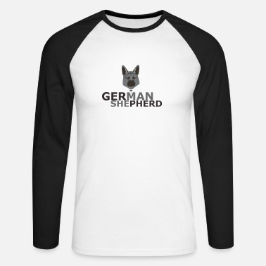 Berger Allemand Cadeau berger allemand berger allemand - T-shirt manches longues baseball Homme