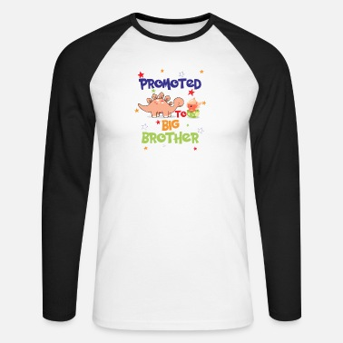 Promoted To Big Promoted To Big Brother - Men's Longsleeve Baseball T-Shirt