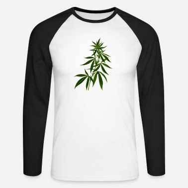 Herbe Herbe, mauvaise herbe - T-shirt manches longues baseball Homme