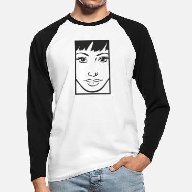 Comic comic - Men's Longsleeve Baseball T-Shirt