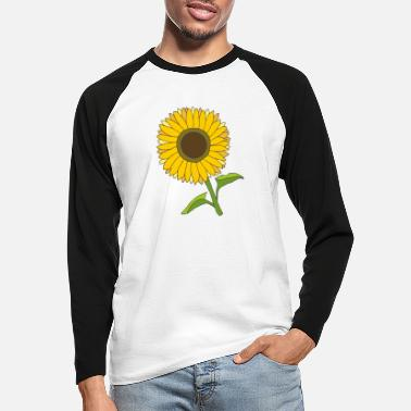Tournesol tournesol - T-shirt manches longues baseball Homme
