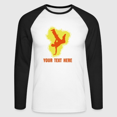 dancer - Men's Long Sleeve Baseball T-Shirt