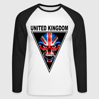 united kingdom - Men's Long Sleeve Baseball T-Shirt