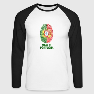 Portugal flag - Made in Portugal - gift - Men's Long Sleeve Baseball T-Shirt