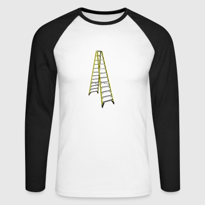 ladder - Men's Long Sleeve Baseball T-Shirt
