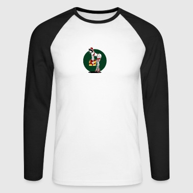 Christmas Pinup - T-shirt baseball manches longues Homme