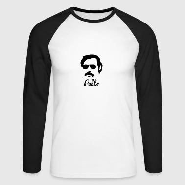Pablo Escobar - Men's Long Sleeve Baseball T-Shirt