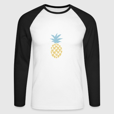 Pineapple - Pineapple Lover - Men's Long Sleeve Baseball T-Shirt