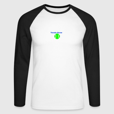 Logomakr 8TrWQF - Men's Long Sleeve Baseball T-Shirt