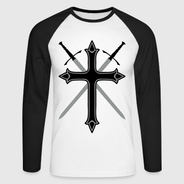 croix - T-shirt baseball manches longues Homme
