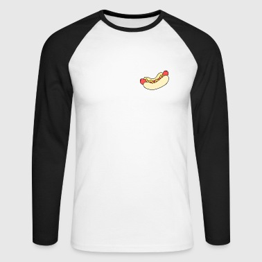 Hotdog - Men's Long Sleeve Baseball T-Shirt
