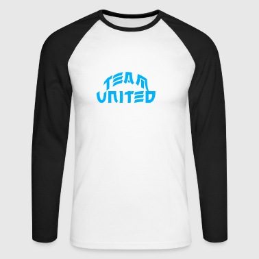 Team United - Men's Long Sleeve Baseball T-Shirt