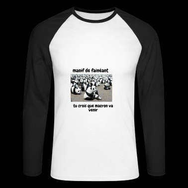 demo - Men's Long Sleeve Baseball T-Shirt