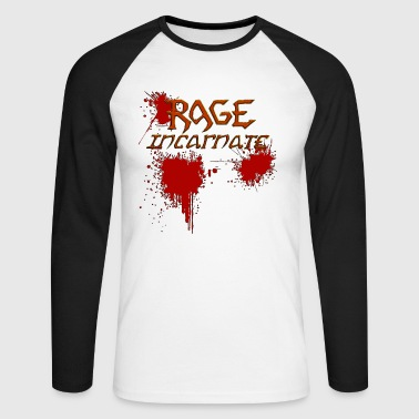 rage - T-shirt baseball manches longues Homme