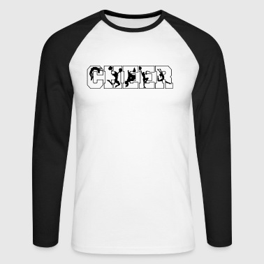cheer - Men's Long Sleeve Baseball T-Shirt
