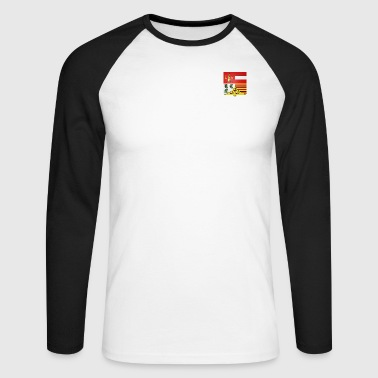 Coat of arms town of Liege - Men's Long Sleeve Baseball T-Shirt