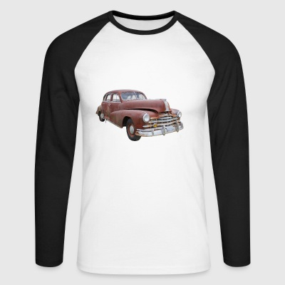 Old Pontiac - Men's Long Sleeve Baseball T-Shirt