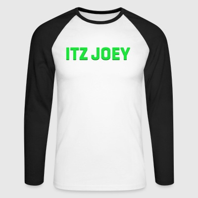 ItzJoey Logo - T-shirt baseball manches longues Homme