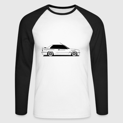 E30 - Men's Long Sleeve Baseball T-Shirt