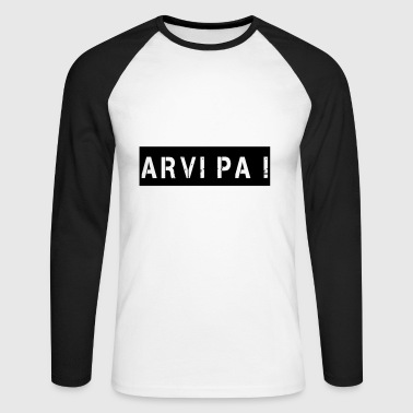 Arvi Pa - T-shirt baseball manches longues Homme