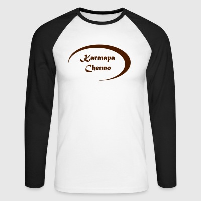 Karmapa Chenno - Men's Long Sleeve Baseball T-Shirt