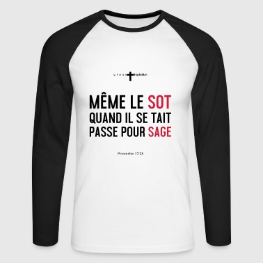 Sage - T-shirt baseball manches longues Homme