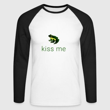 Frog Kiss me! - T-shirt baseball manches longues Homme