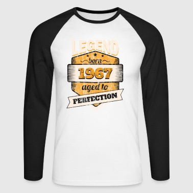 1967 - T-shirt baseball manches longues Homme