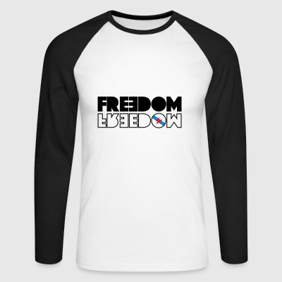 FREEDOM GALICIA - Men's Long Sleeve Baseball T-Shirt