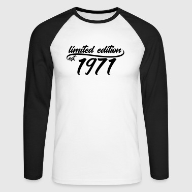 Limited Edition 1971 is - T-shirt baseball manches longues Homme