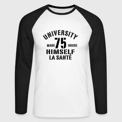 HIMSELF 75 - T-shirt baseball manches longues Homme