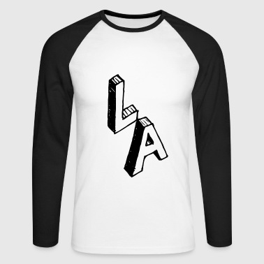 LOS ANGELES - T-shirt baseball manches longues Homme