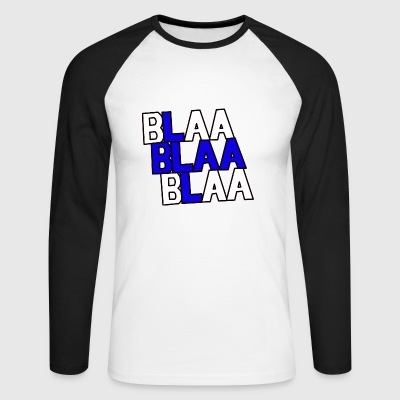 Finland Blaa - Men's Long Sleeve Baseball T-Shirt