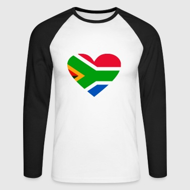 2541614 14656002 south africa - Men's Long Sleeve Baseball T-Shirt