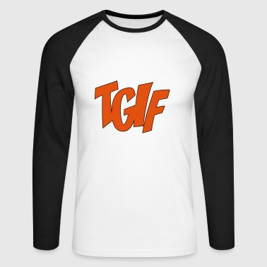 2541614 15016112 TGIF - T-shirt baseball manches longues Homme