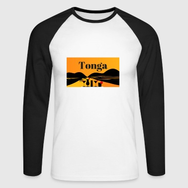 tonga - Men's Long Sleeve Baseball T-Shirt