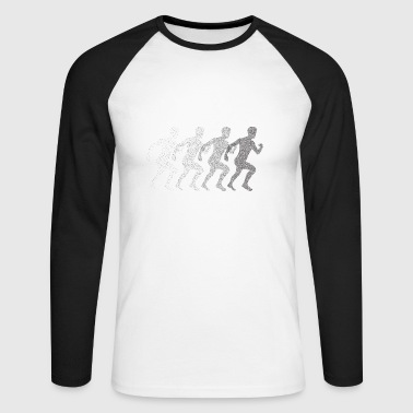 Running - Men's Long Sleeve Baseball T-Shirt