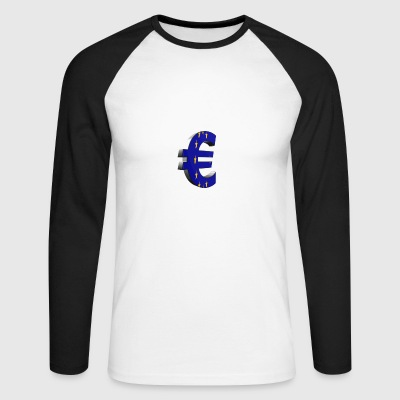 Euro - Men's Long Sleeve Baseball T-Shirt