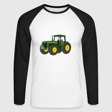 tracteur - T-shirt baseball manches longues Homme