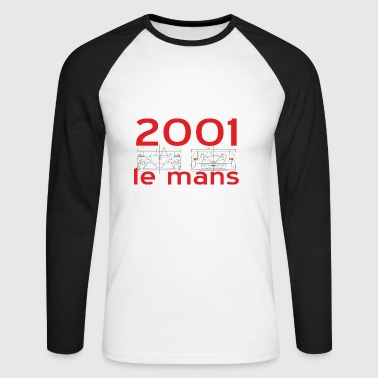 Le mans 2001 - Men's Long Sleeve Baseball T-Shirt